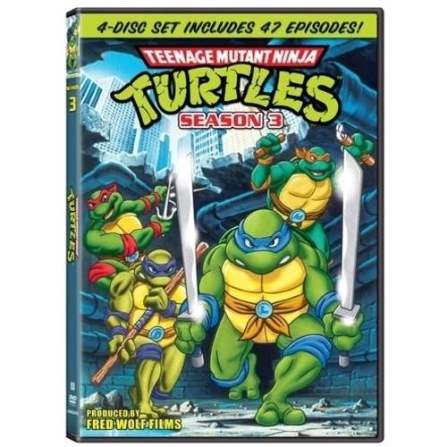 Teenage Mutant Ninja Turtles Season Three Full Frame Walmartcom