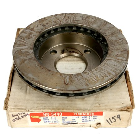 1981-1994 Ford Mercury Escort Tempo Topaz Lynx Brake Rotor Part Number F13Z1125A