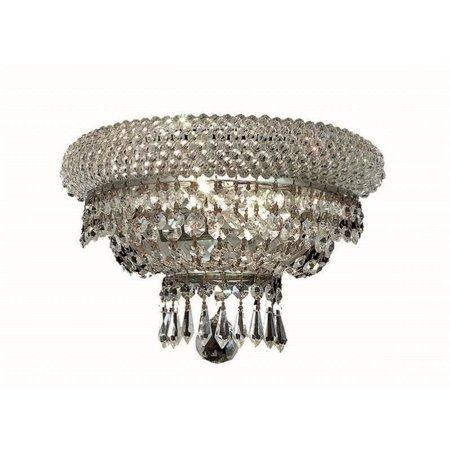"""Elegant Lighting Primo 8"""" 2 Light Elements Crystal Wall Sconce - image 1 de 1"""