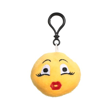 Emoji Plush Toy Mini Keychain Pendant For Birthday Party Classroom Reward Prize Party Favor Bag Easter Egg Christmas Decoration ()