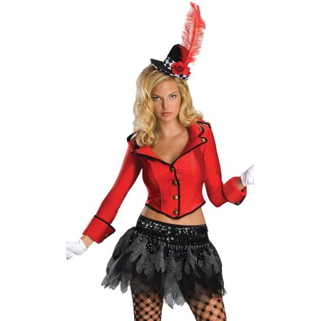 Womens Deluxe  Circus Ring Master Adults Costume