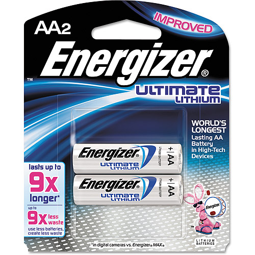 Energizer e  Lithium Batteries, AA, 2/pack