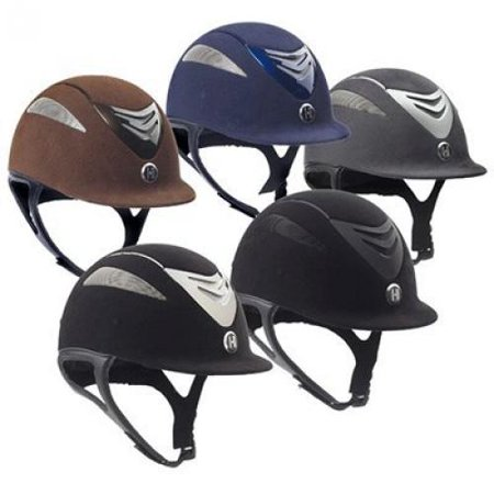 One K Defender Suede Helmet - Long Oval - Size:Small Color:Black Matte