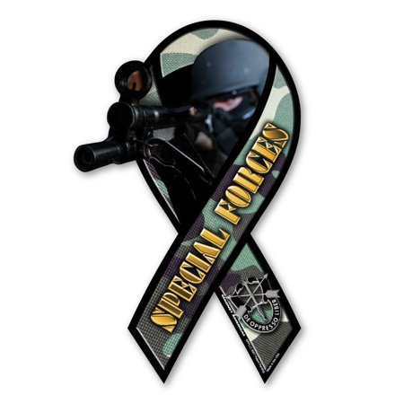 Special Forces Large Ribbon Magnet (Large Ribbon Magnet)
