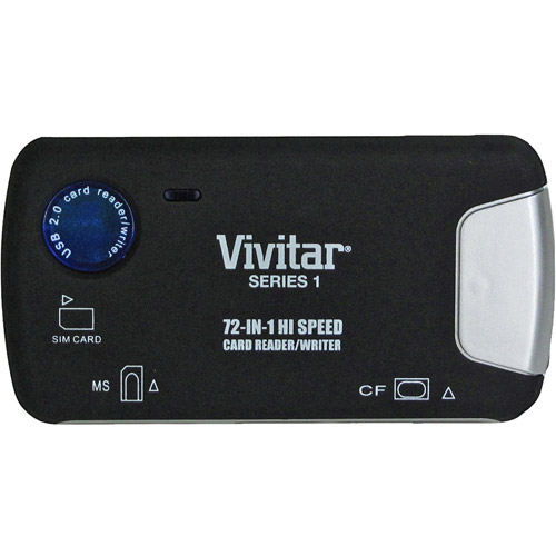Vivitar 72-in-1 Memory Card Reader / Writer