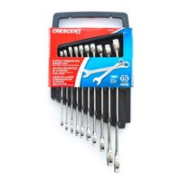 Crescent CCWS3 Metric Combination Wrench Set, 10 Piece
