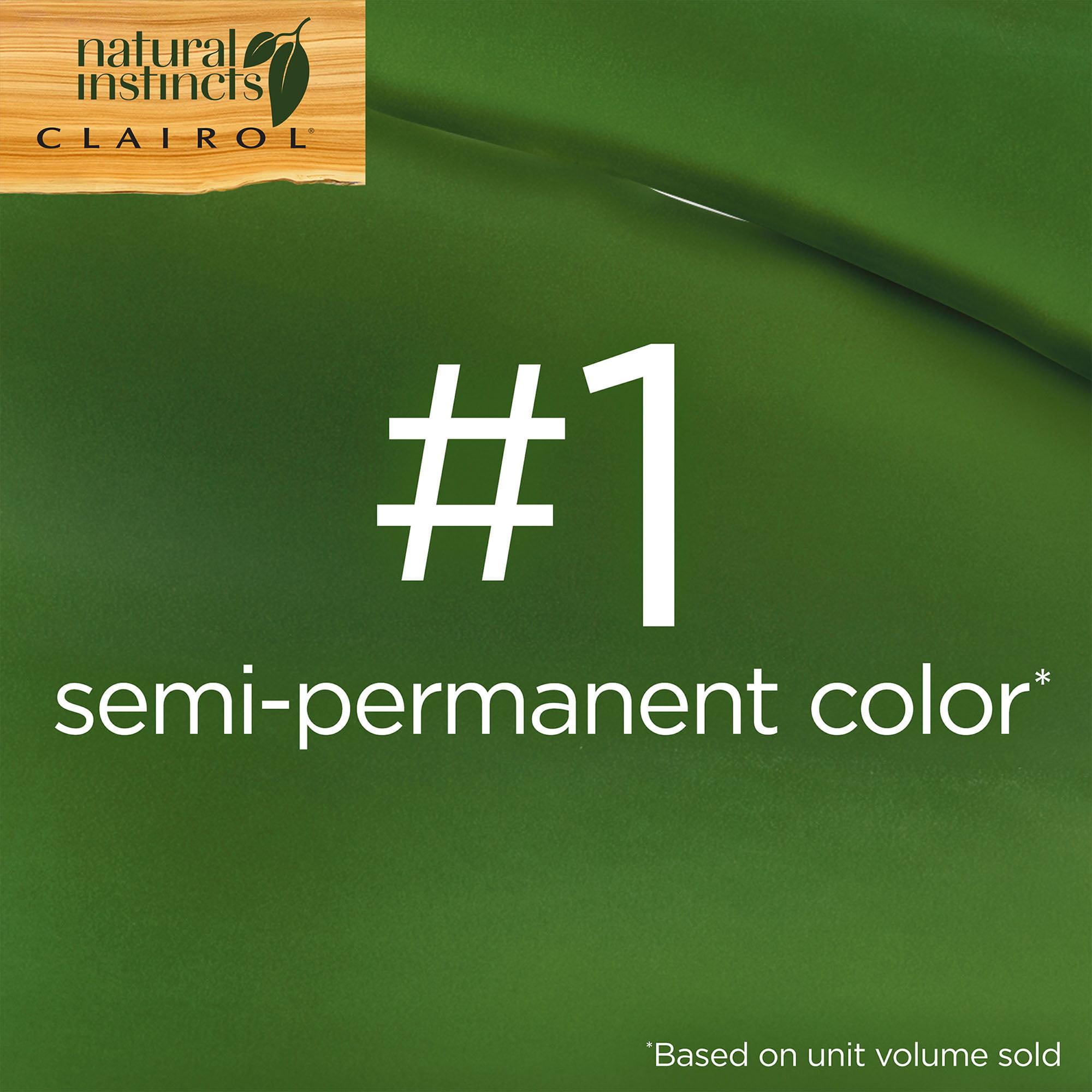 Clairol Natural Instincts Hair Color, 22 Medium Auburn Brown, 1 Kit ...
