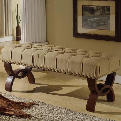 Charlton Home Bowes Upholstered Bench