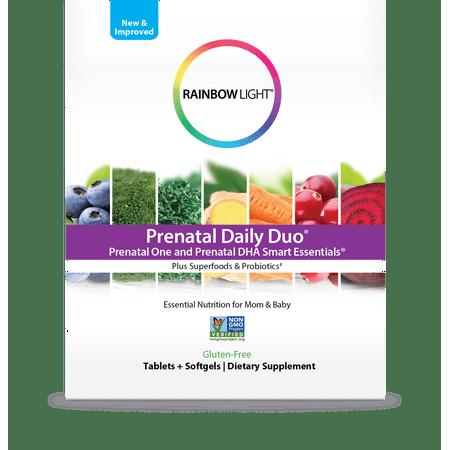 Rainbow Light Prenatal Daily Duo Multivitamin Dietary