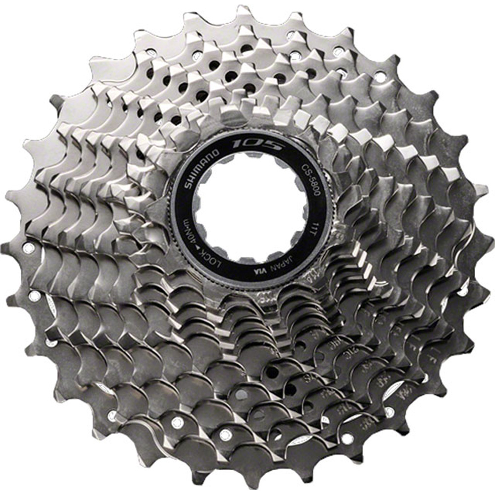Shimano 105 CS-5800 HG-EV 11-Speed Road Cassette 11-28T HyperGlide Bicycle