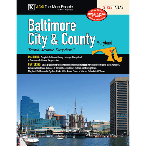 Universal Map Baltimore City And County Atlas