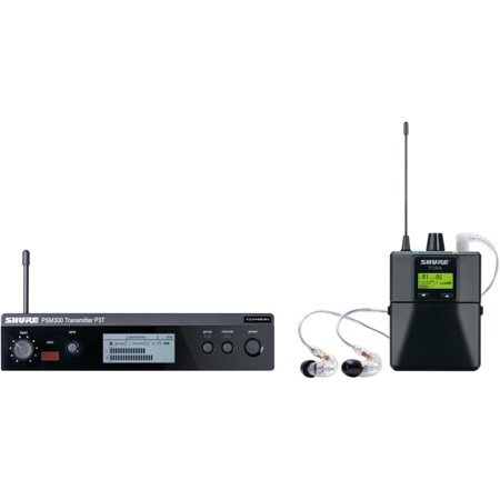 PSM 300 Wireless Personal Monitoring System With SE215-CL Earphones