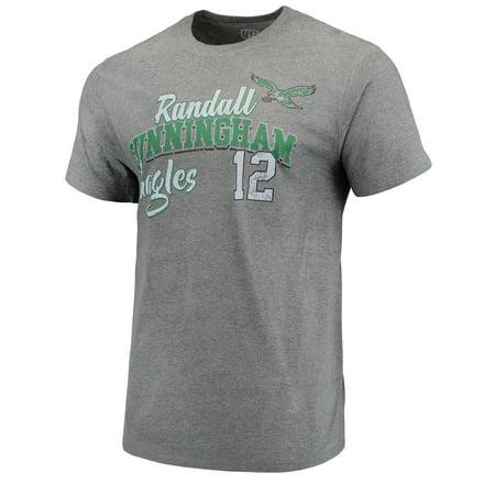 Randall Cunningham Philadelphia Eagles G-III Sports by Carl Banks Primetime Player Name & Number - NFL Greats T-Shirt - Graphite