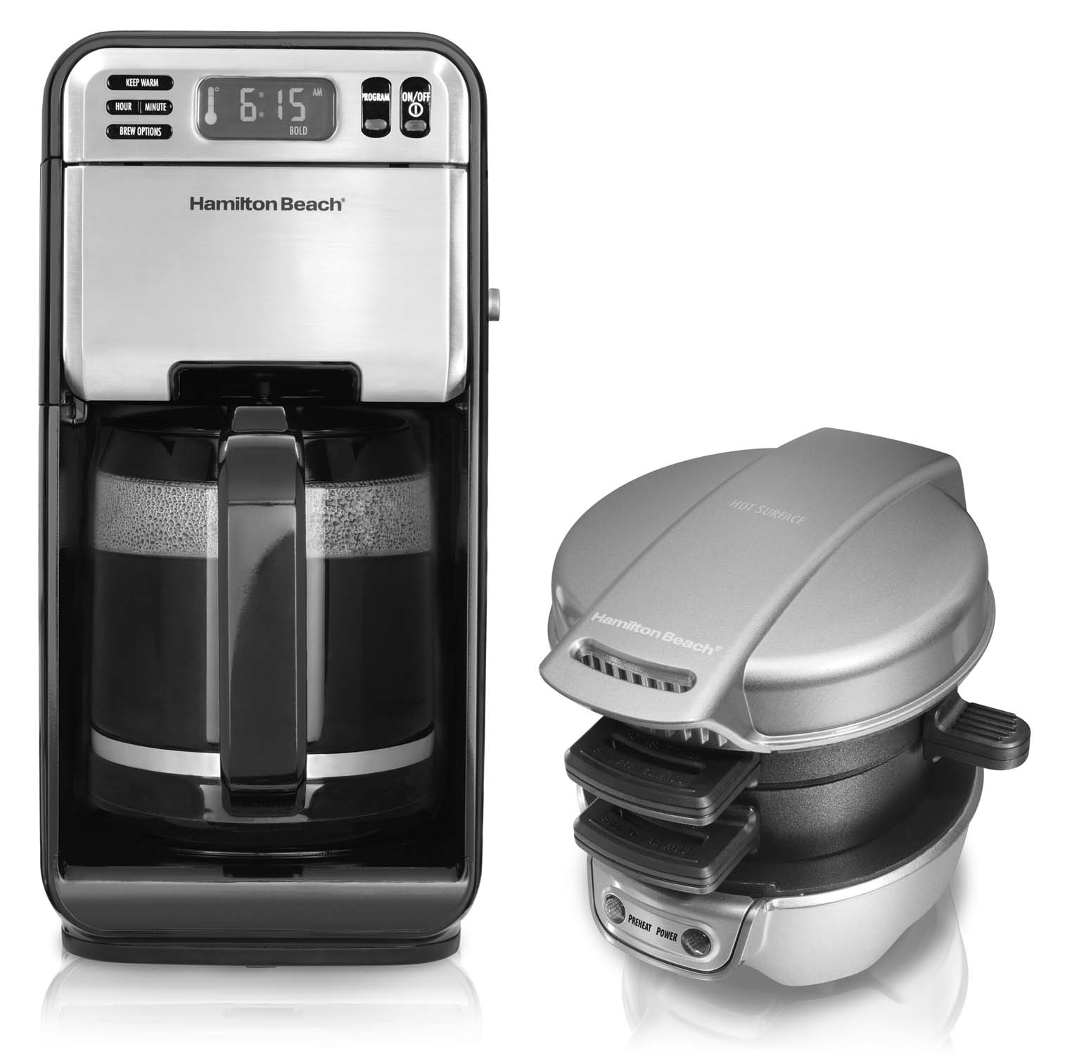 Hamilton Beach 12 Cup Digital Coffee Maker with Breakfast...