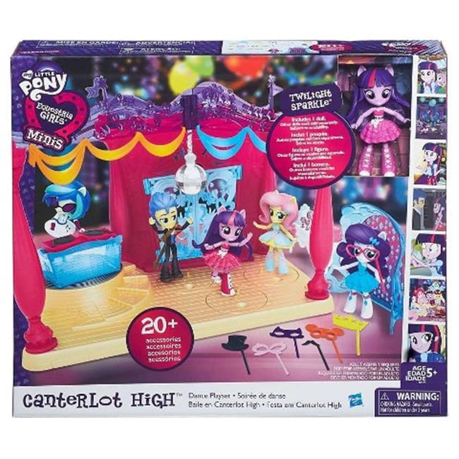 Hasbro HSBB6475 My Little Pony-EG Minis-Canterlot Dance Playst, Pack of 3 by Hasbro