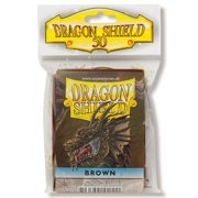 Dragon Shield 50ct Deck Protector Classic 'Brown' (Standard Size)