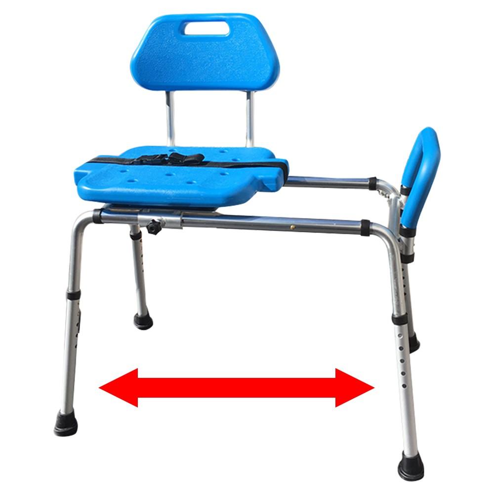 Platinum Health HydroGlyde Premium Sliding Bath Shower Transfer Bench / Chair with FREE