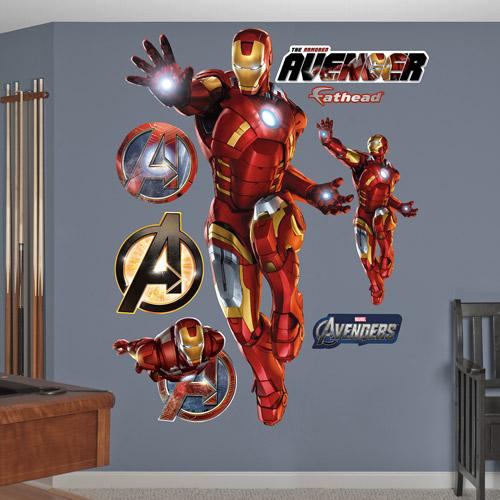Fathead Iron Man Avengers