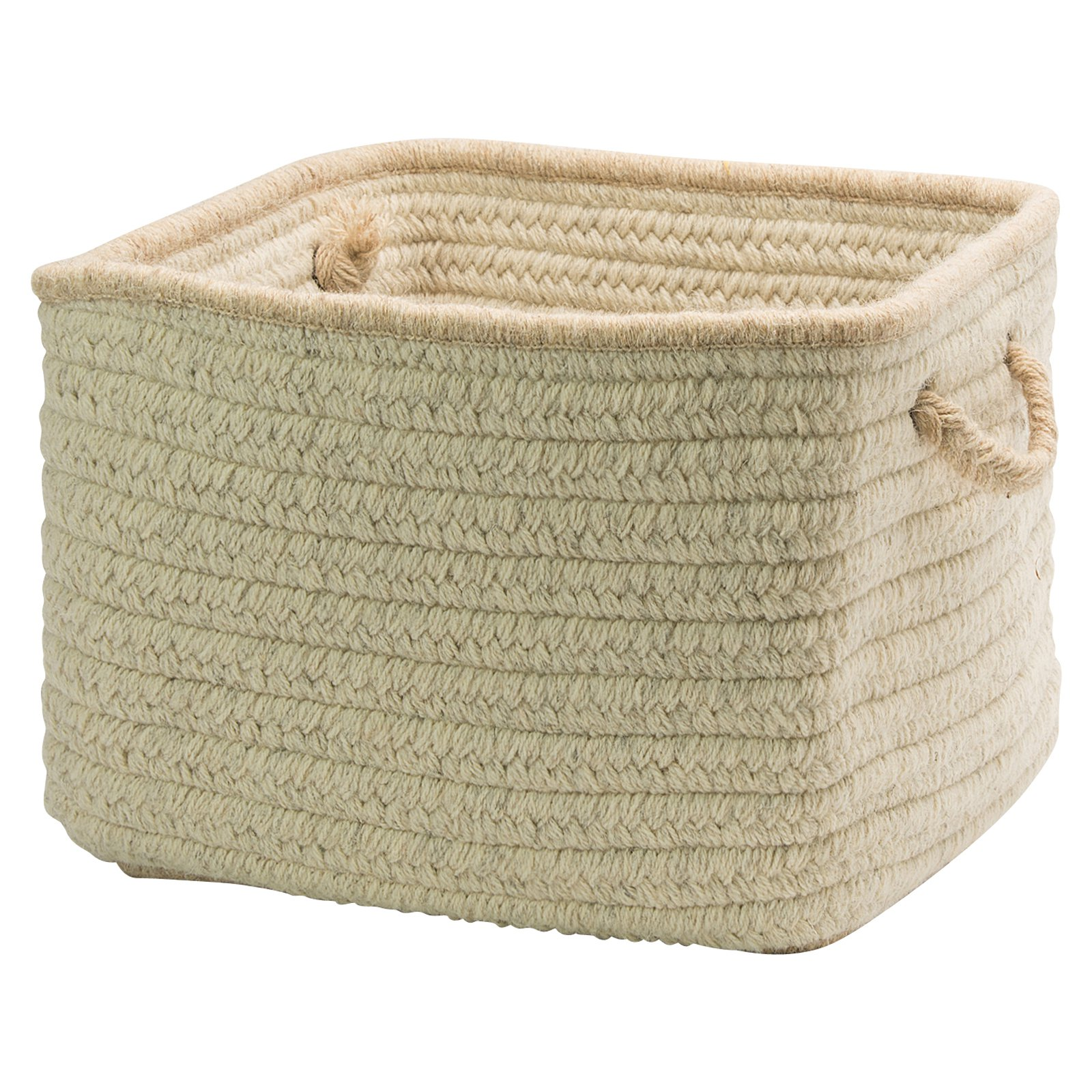 Colonial Mills Natural Style Square Basket