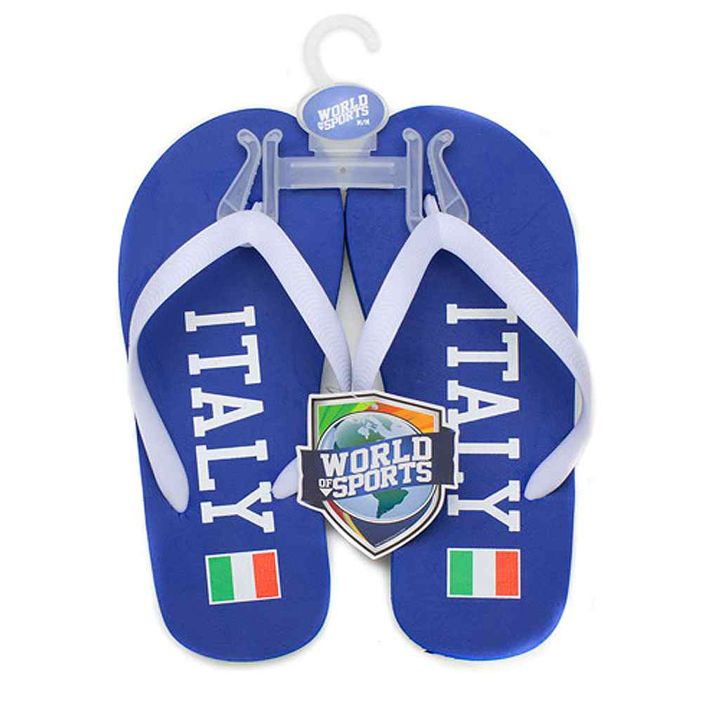 World of Sports Flip Flops - Italy - Small