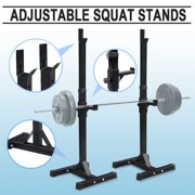 Best Squat Stands - ZENY Pair of Adjustable Barbell Rack Stand Squat Review