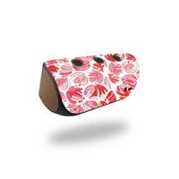 Skin Decal for Logitech X300 Wireless Speaker sticker Blue Flowers