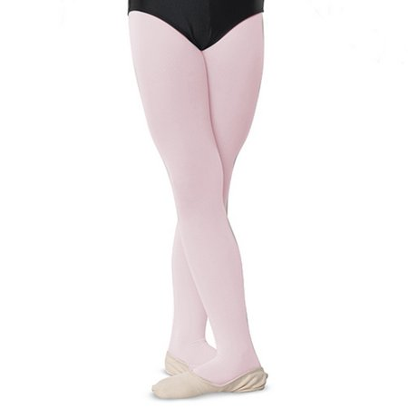Danshuz Little Girls Ballet Pink Comfortable Nylon Stretch Tights 2-6 Country Kids Nylon Tights