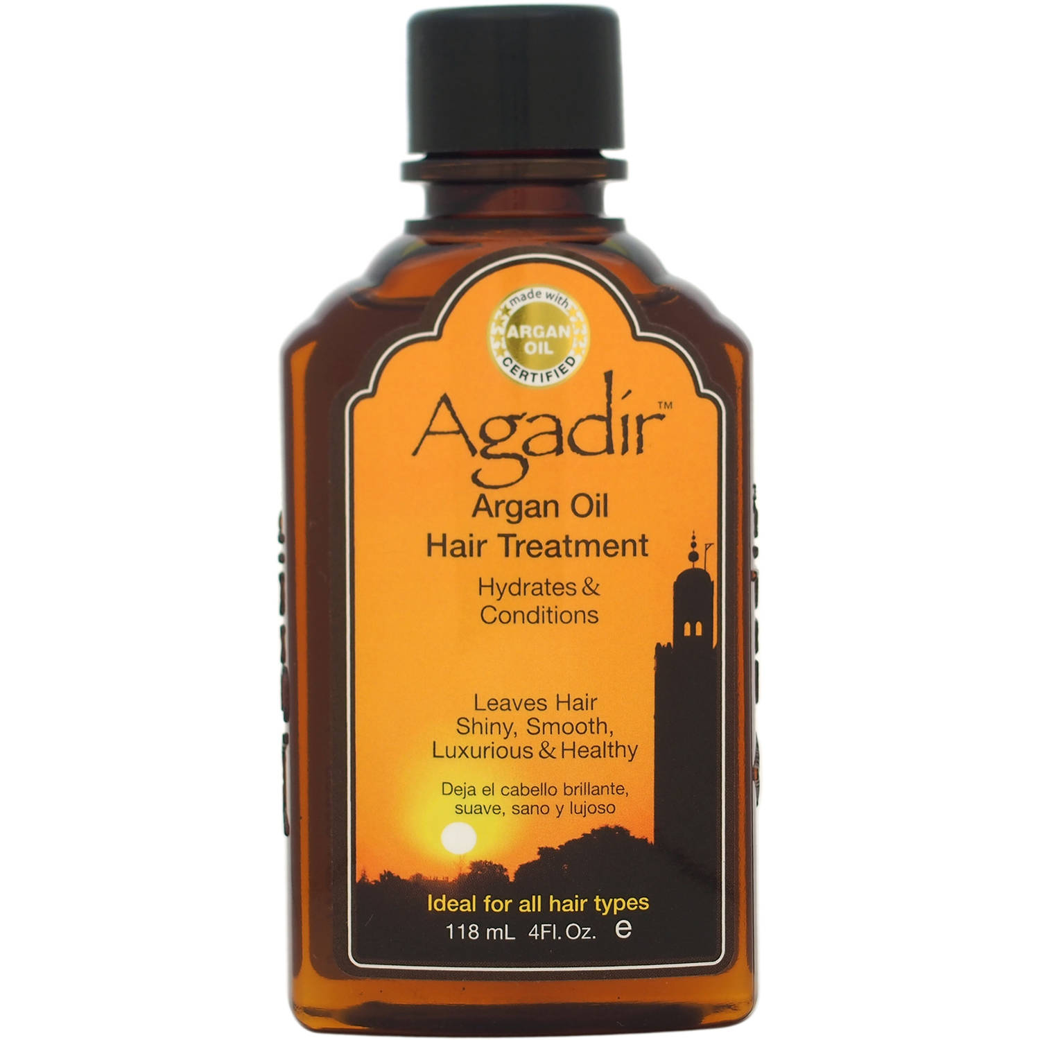 Agadir Unisex Argan Oil Hair Treatment, 4 fl oz