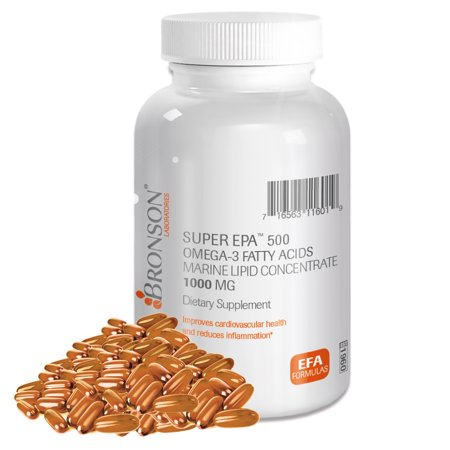 Bronson Super Epa 500 Omega 3 Fatty Acids  100 Softgels