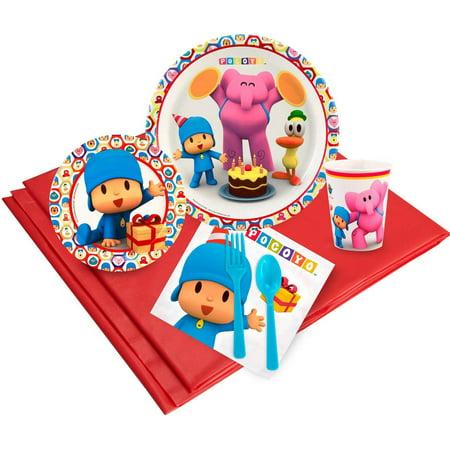 Pocoyo Party Pack for 32](Feliz Halloween Pocoyo)