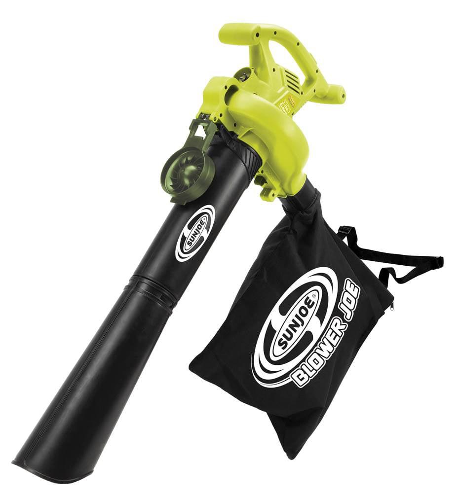 3-in-1 Electric Blower, Vacuum, Mulcher in Green and Black