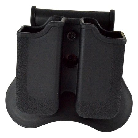 Taurus 24/7 Dual Magazine Pouch, Fits: Beretta Px4; H&K P30; H&K USP Compact (9/40); Ruger SR9; Steyr M Series; S&W Sigma; Taurus 24/7, PT845, PT840 Magazines.,.., By Boomstick Gun