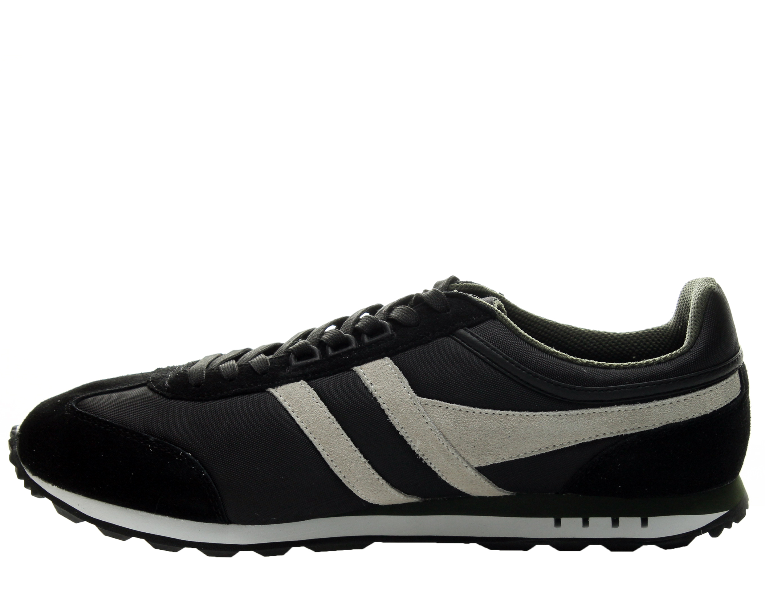 Gola Boston Black//Ecru//Green Men/'s Running Shoes CMA297BC