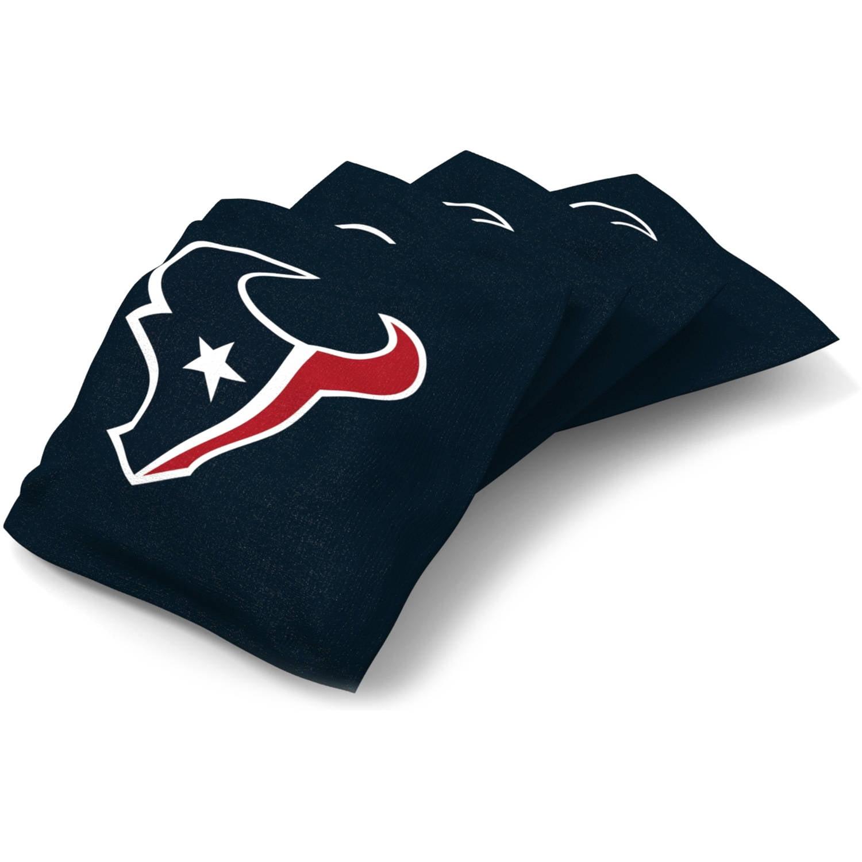 Wild Sports NFL Houston Texans XL Bean Bag 4pk