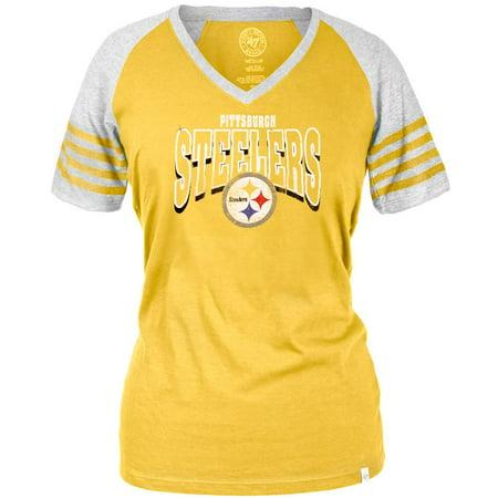Pittsburgh Steelers - Ballpark Juniors Premium Jersey T-Shirt ... 9e5b2c8ad