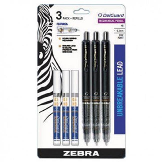 pick your mix Zebra Delguard Mechanical Pencil 0.5mm BLACK