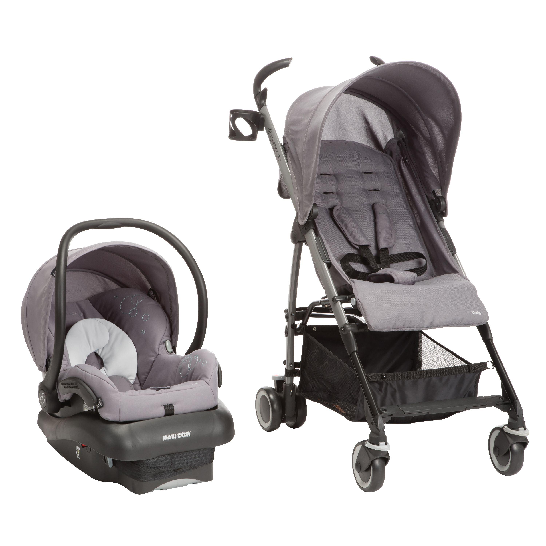 Maxi Cosi Kaia/Mico Nxt 3-in-1 Travel System Car Seat, Steel Grey