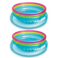 2 Pack Intex Inflatable 80-Inch Jump-O-Lene Ring Bouncer