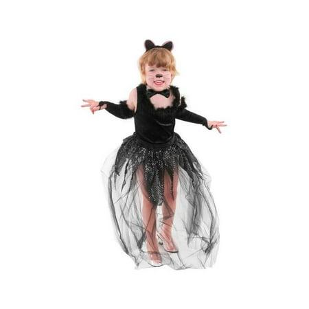 Childs Black Cat Costume