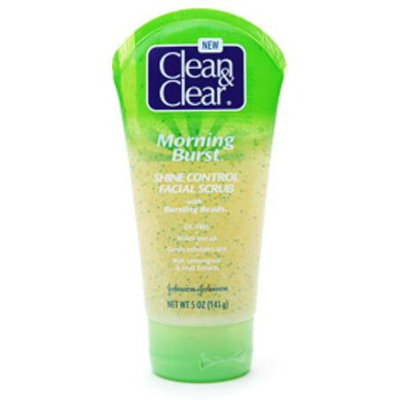 Clean & Clear Morning Burst Shine Control Facial Scrub Clean