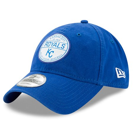 Kansas City Royals New Era Core Standard 9TWENTY Adjustable Hat - Royal - - Royal Standard Old Mill