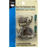 Key Fob Hardware Sets Bonus Pack-Silver