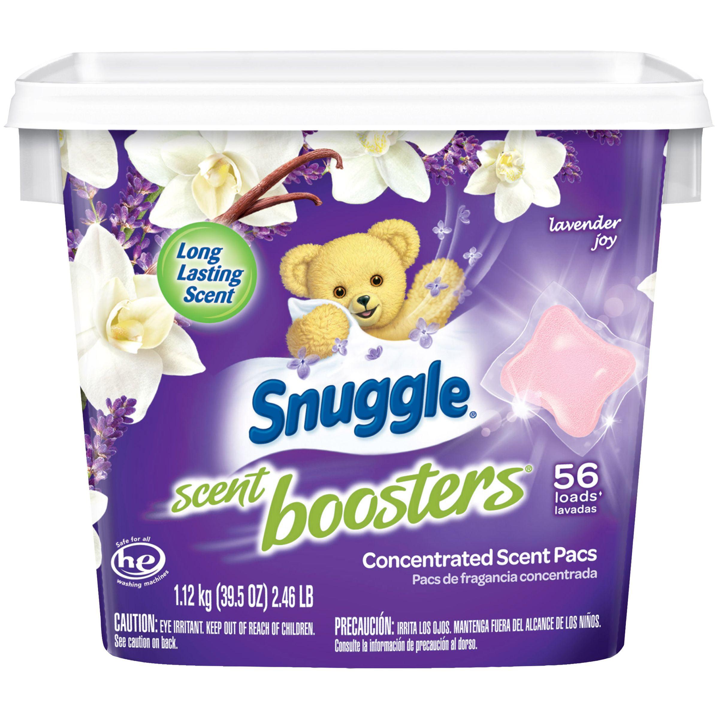 Snuggle Scent Boosters In Wash Laundry Scent Pacs Lavender Joy 56 Count Walmart Com Walmart Com