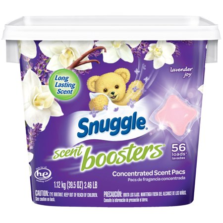Count Booster (Snuggle Scent Boosters Lavender Joy, 56 Count )