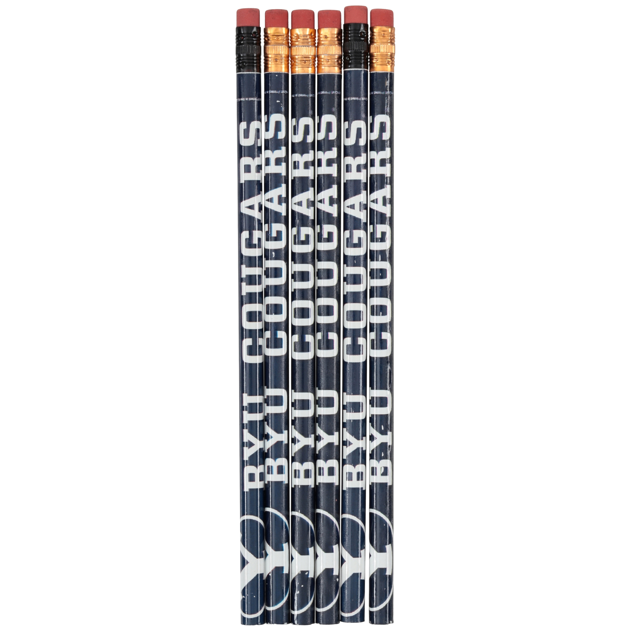 American Logo Products BYU Cougars Pencils 6 ct Pack