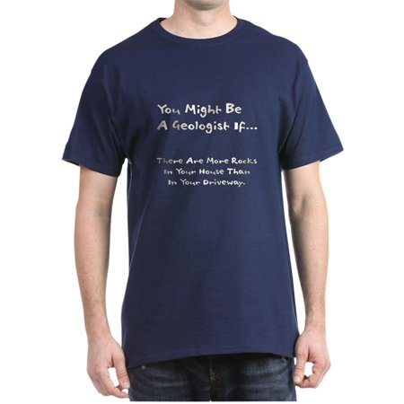 dfffc22aa CafePress - CafePress - You Might Be A Geologist If.. Dark T Shirt - 100%  Cotton T-Shirt - Walmart.com