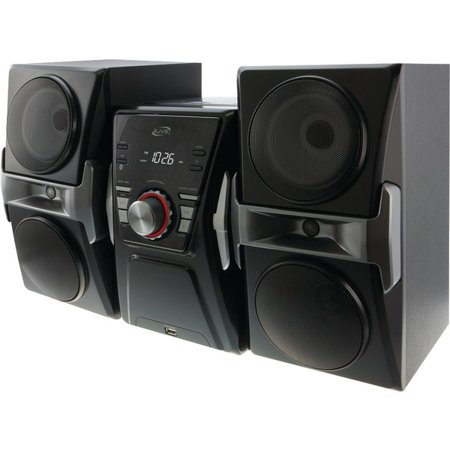 ILIVE IHB624B Bluetooth(R) Home Music System with FM Tuner & LED Lights