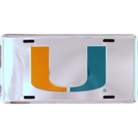 Miami Hurricanes Anodized License Plate - image 1 of 2