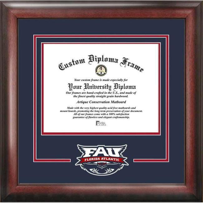 Campus Images FL986SD Florida Atlantic University Spirit Diploma Frame
