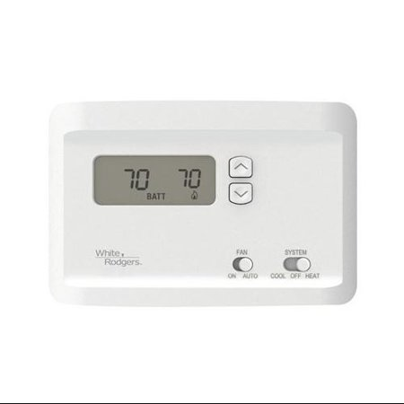 White-Rodgers Division NP100 Thermostat, Electronic, Non-Programmable